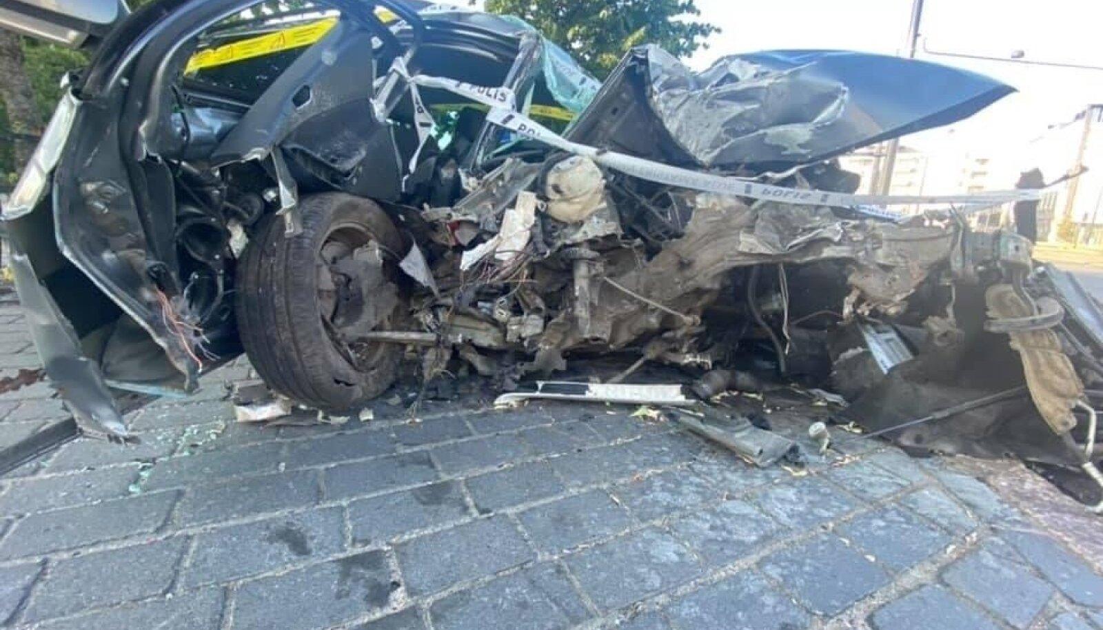 Liiklusõnnetus Helsingis.