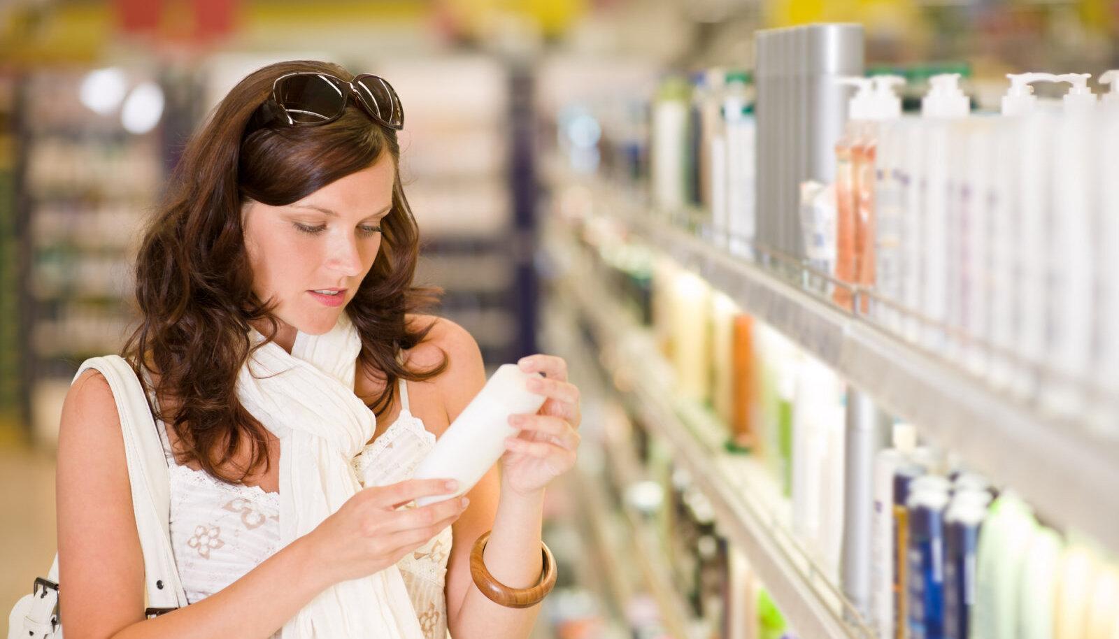 Mida sisaldavad kosmeetikatooted?