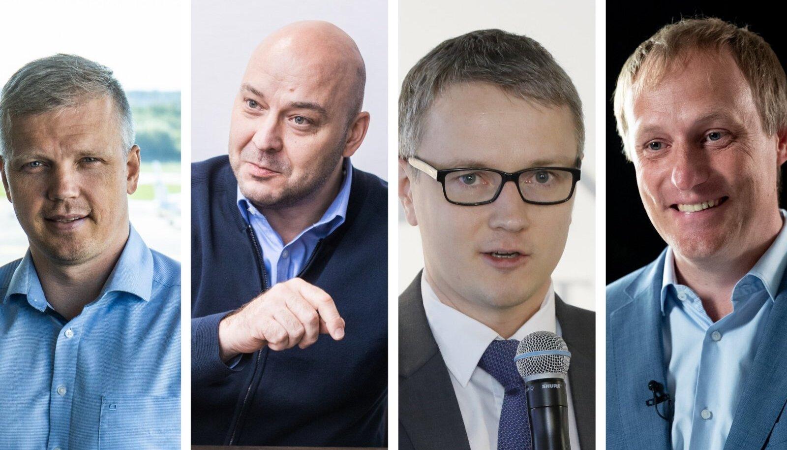 Egon Veermäe, Jaanus Vihand, Ahto Pärl, Taavi Kotka