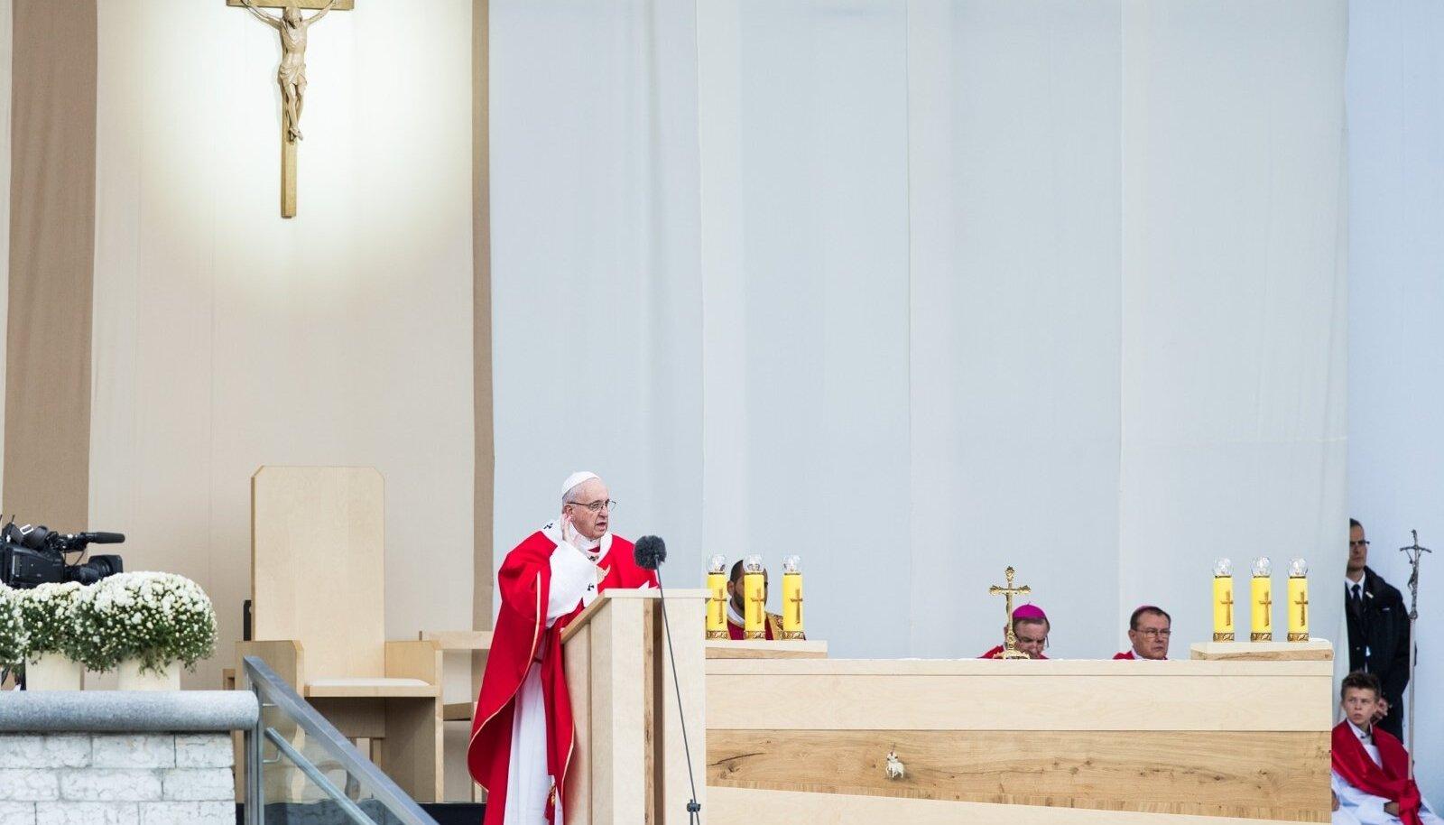 Paavst Fancis 'e visiit Eestisse