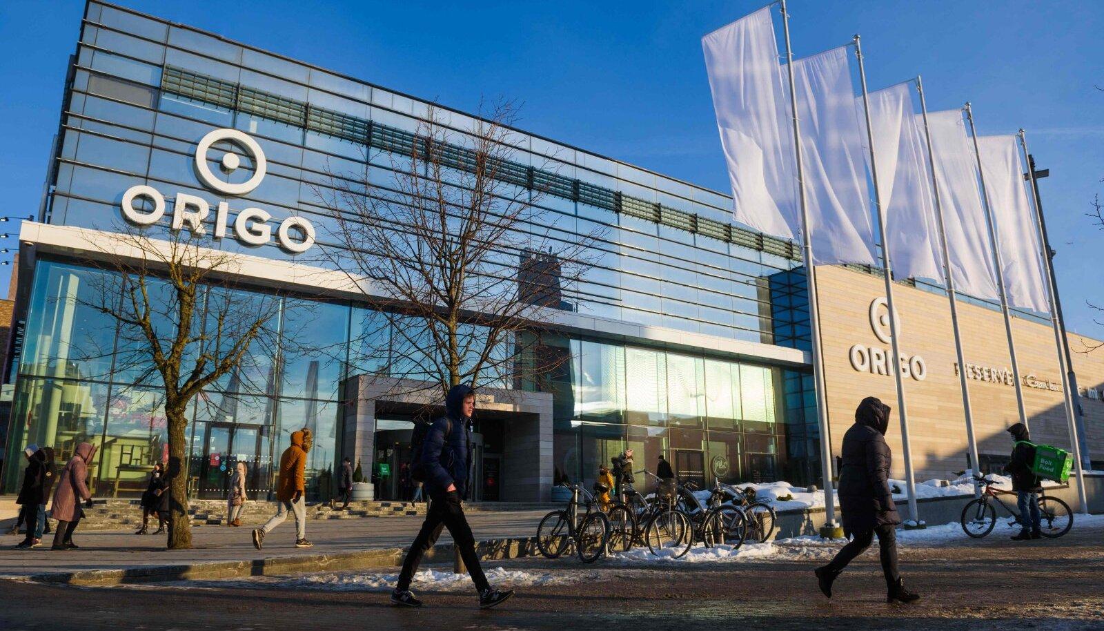 Läti kaubanduskeskus Origo