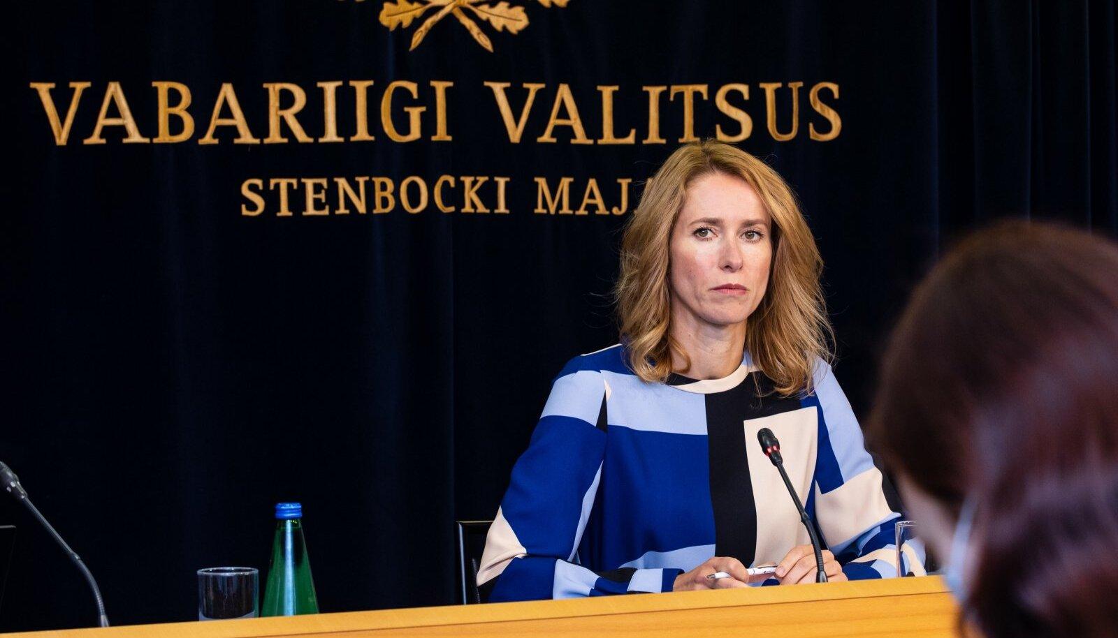 Peaminister ja Reformierakonna juht Kaja Kallas.