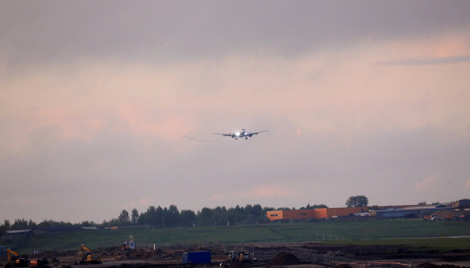 Valgevenes maanduma sunnitud lennuk jõuab Vilniusesse tagasi (foto: EPA / Scanpix)