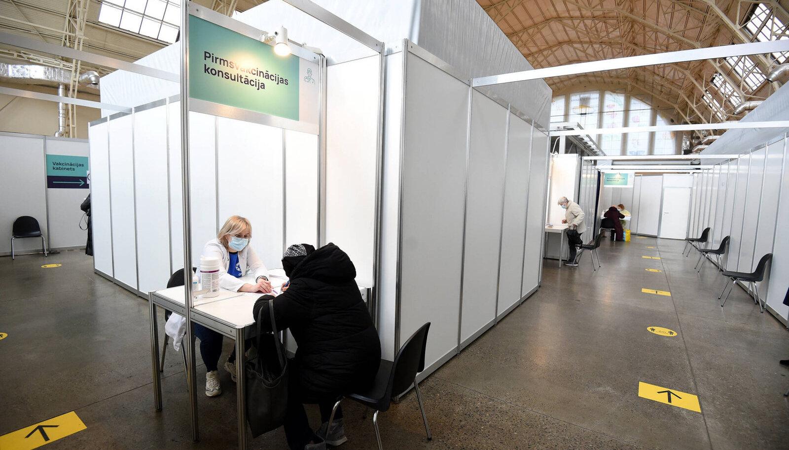 Vaktsineerimiskeskus Lätis