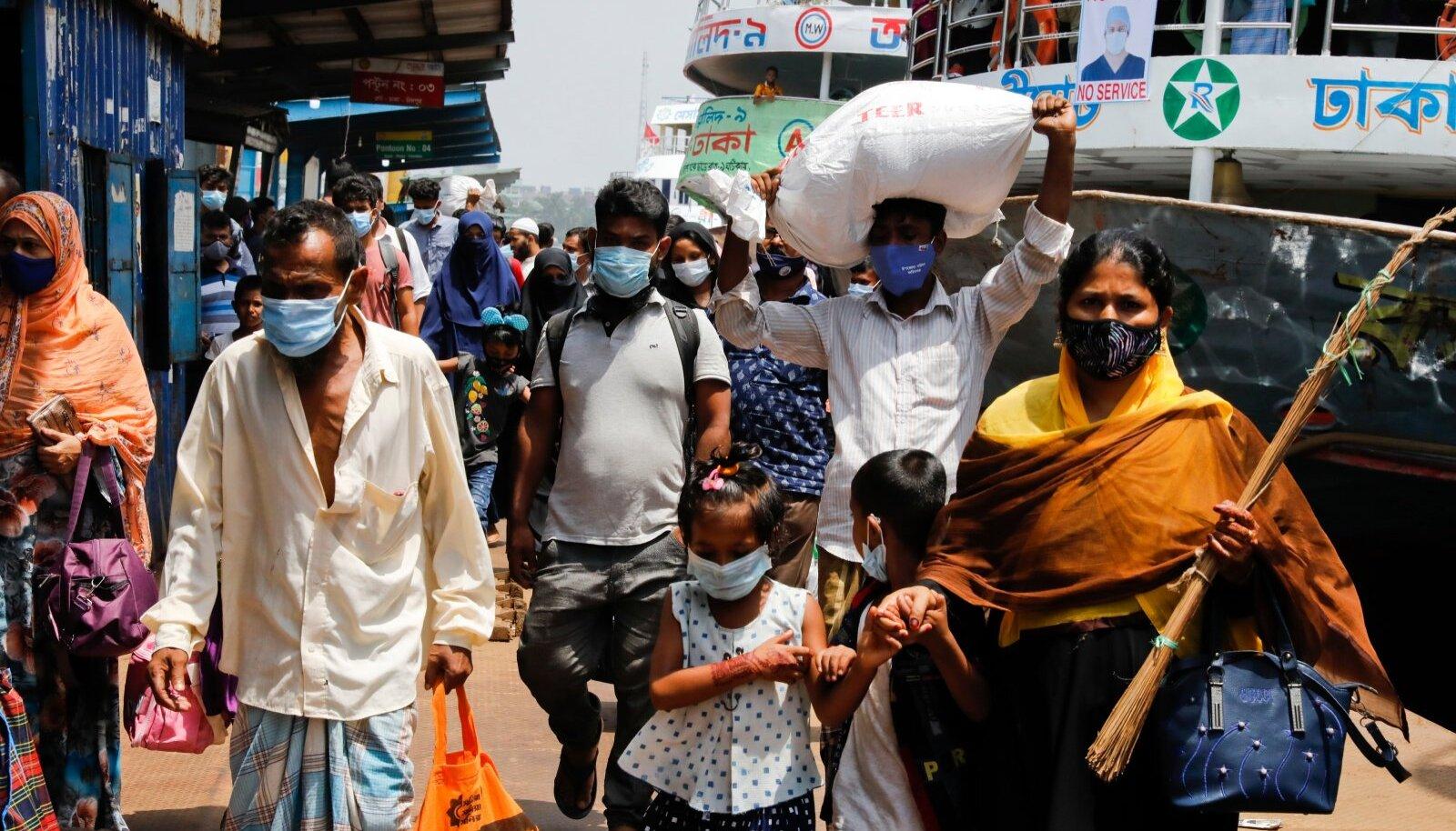 VAKTSIINI OOTEL: Vaid maskid pandeemiat ei lõpeta, kuid elusid päästa aitavad küll.