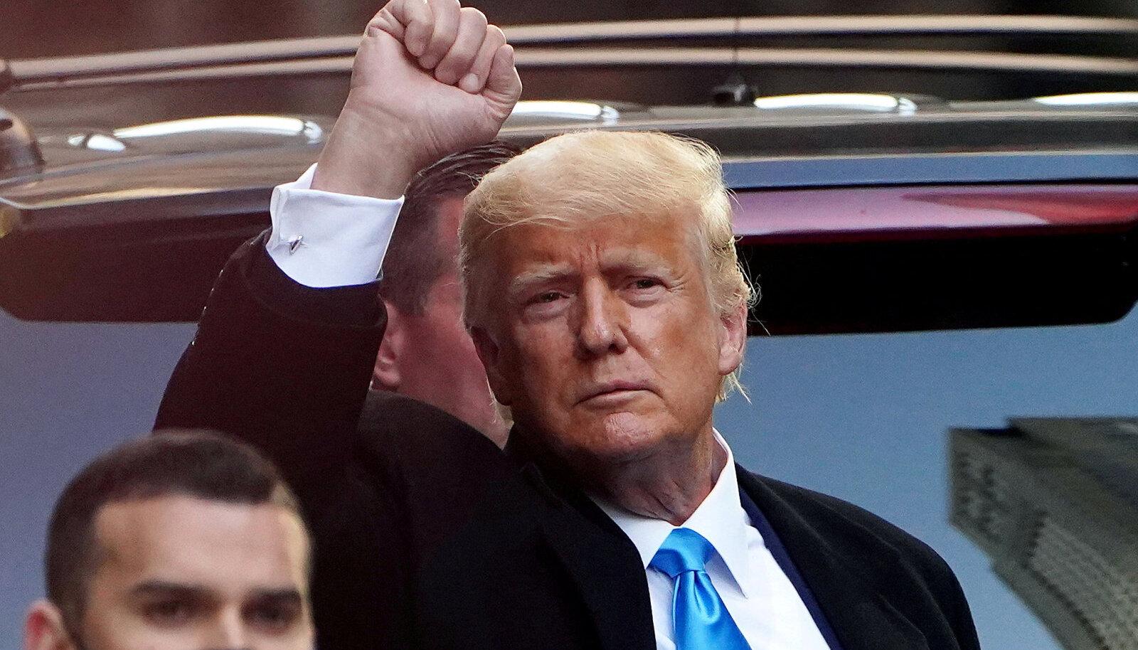 USA endine riigipea Donald Trump.