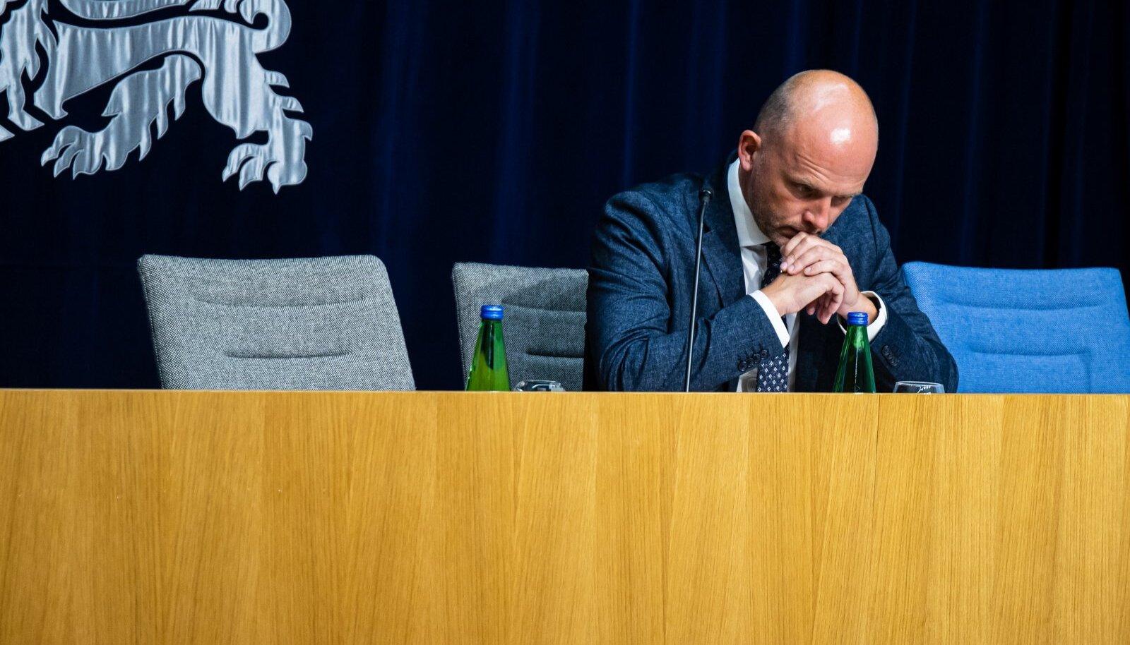 Riigisekretär Taimar Peterkop pidi tõdema, et külmlaos mitme miljoni eurose kahju tekitanud sulamise põhjustasid mitme asjaosalise tõsised vead.