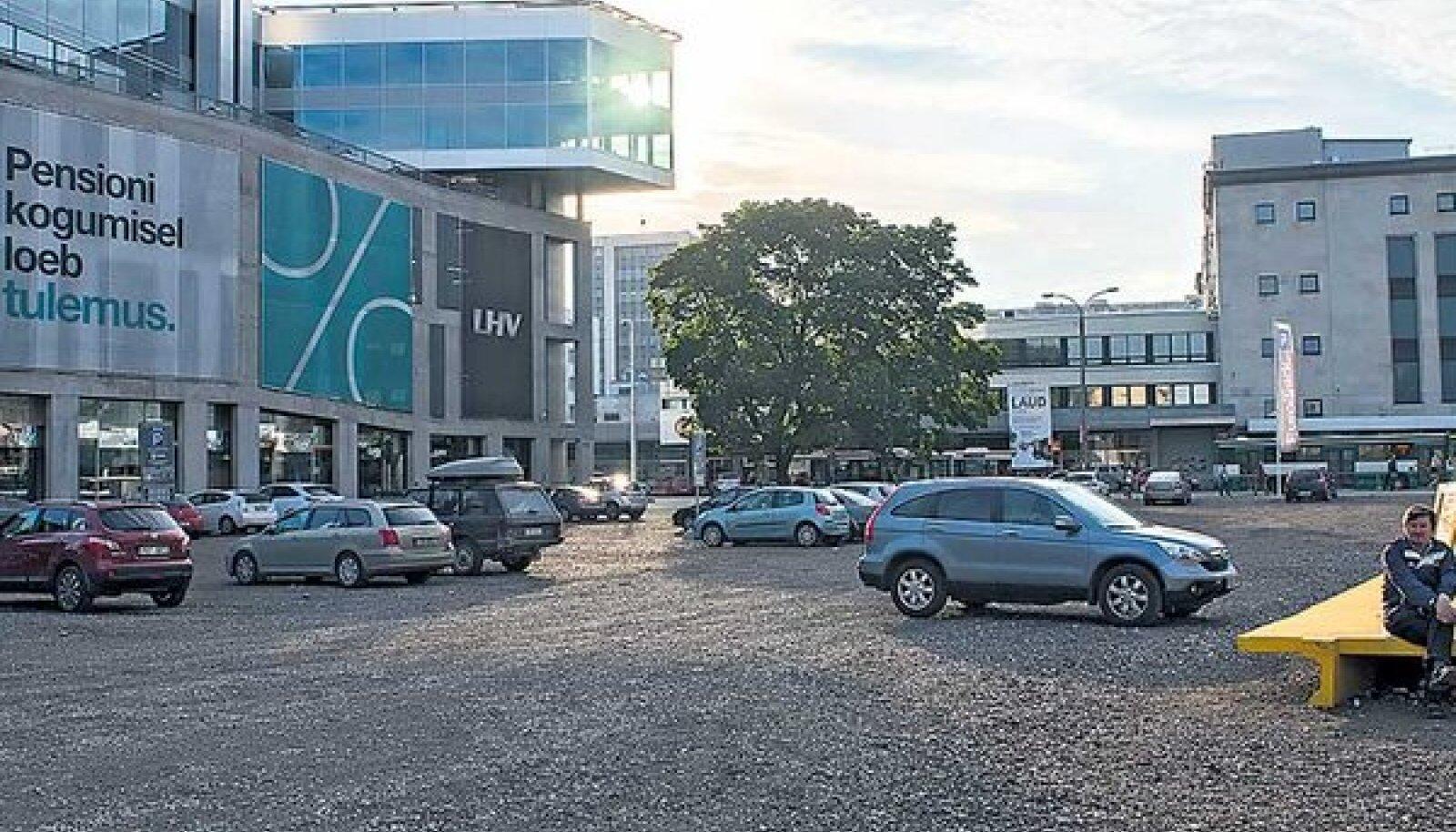 Kunstiakadeemia Tartu maantee krunt on endiselt tulipunktis: olematu hoone on EKA-lt võtnud juba 6,1 miljonit eurot, naaber ja linn vaidlevad seniajani ehitusloa tingimuste üle.