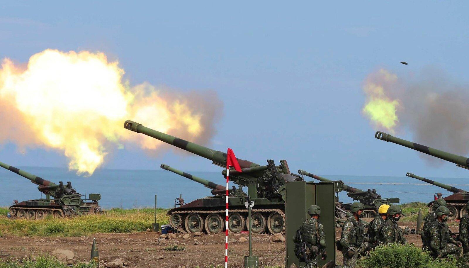 Septembris toimunud õppusel harjutas Taiwani armee Hiina rünnakut tõrjuma.