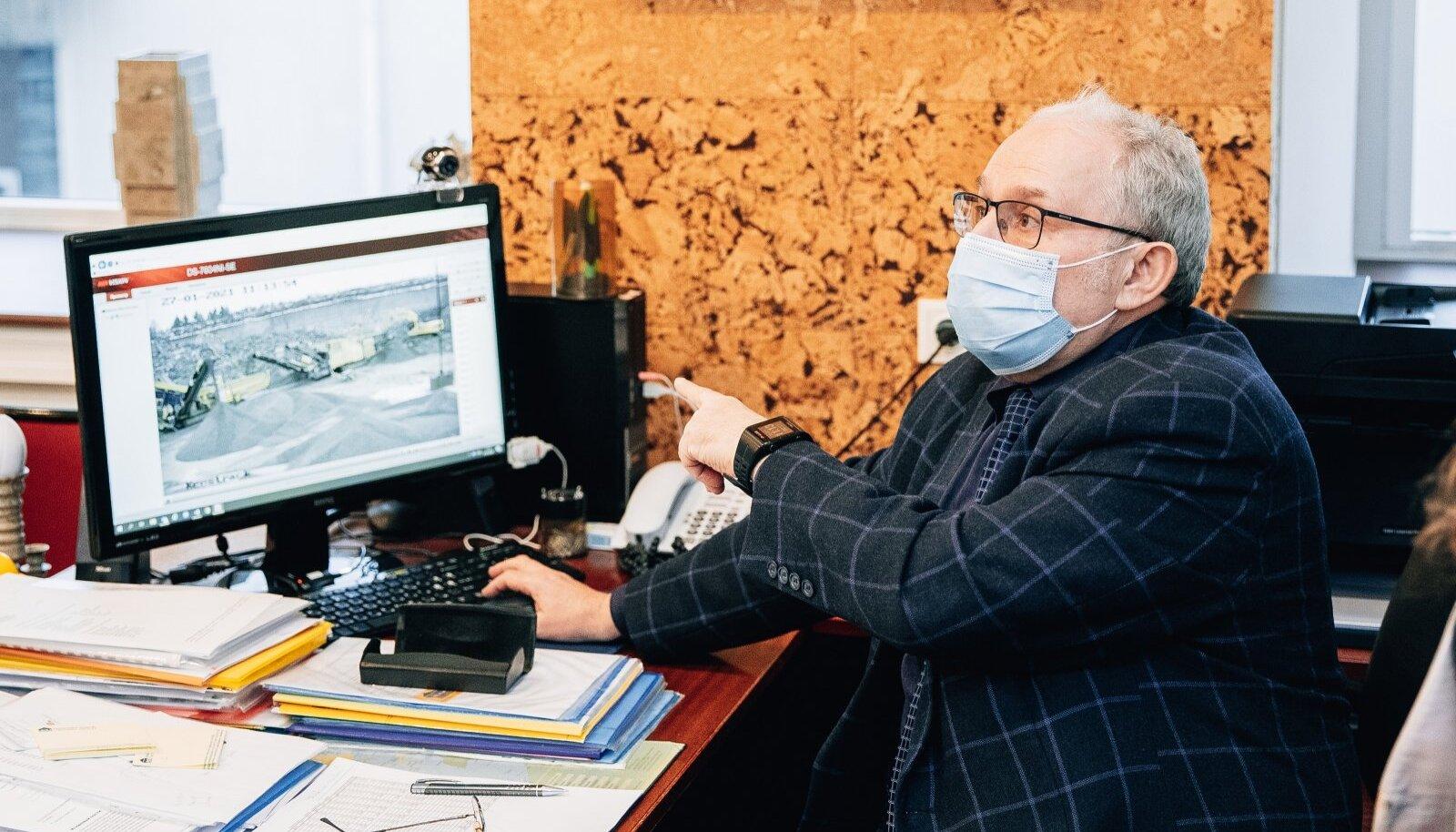Vladimir Libmani kinnitusel kasutab Paekivitoodete Tehase OÜ Lasnamäe külje all tegutsevas Väo karjääris kõige moodsamat kaevandustehnoloogiat.