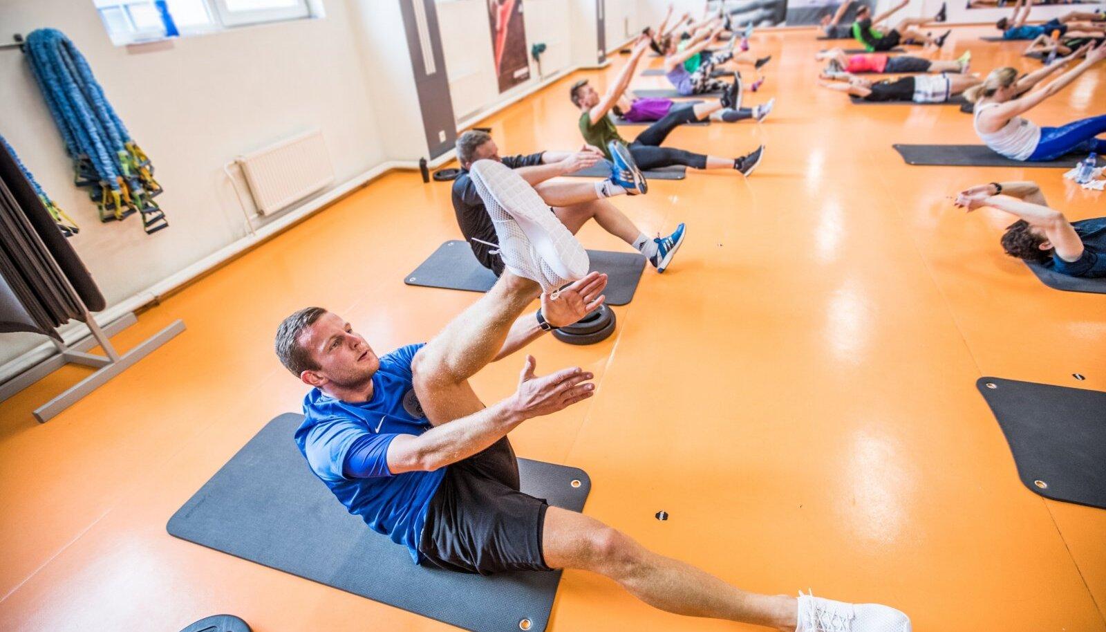 Sparta spordiklubi pealelõunased treenijad