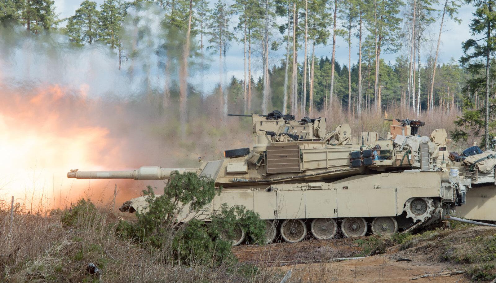 USA tankid Tapal