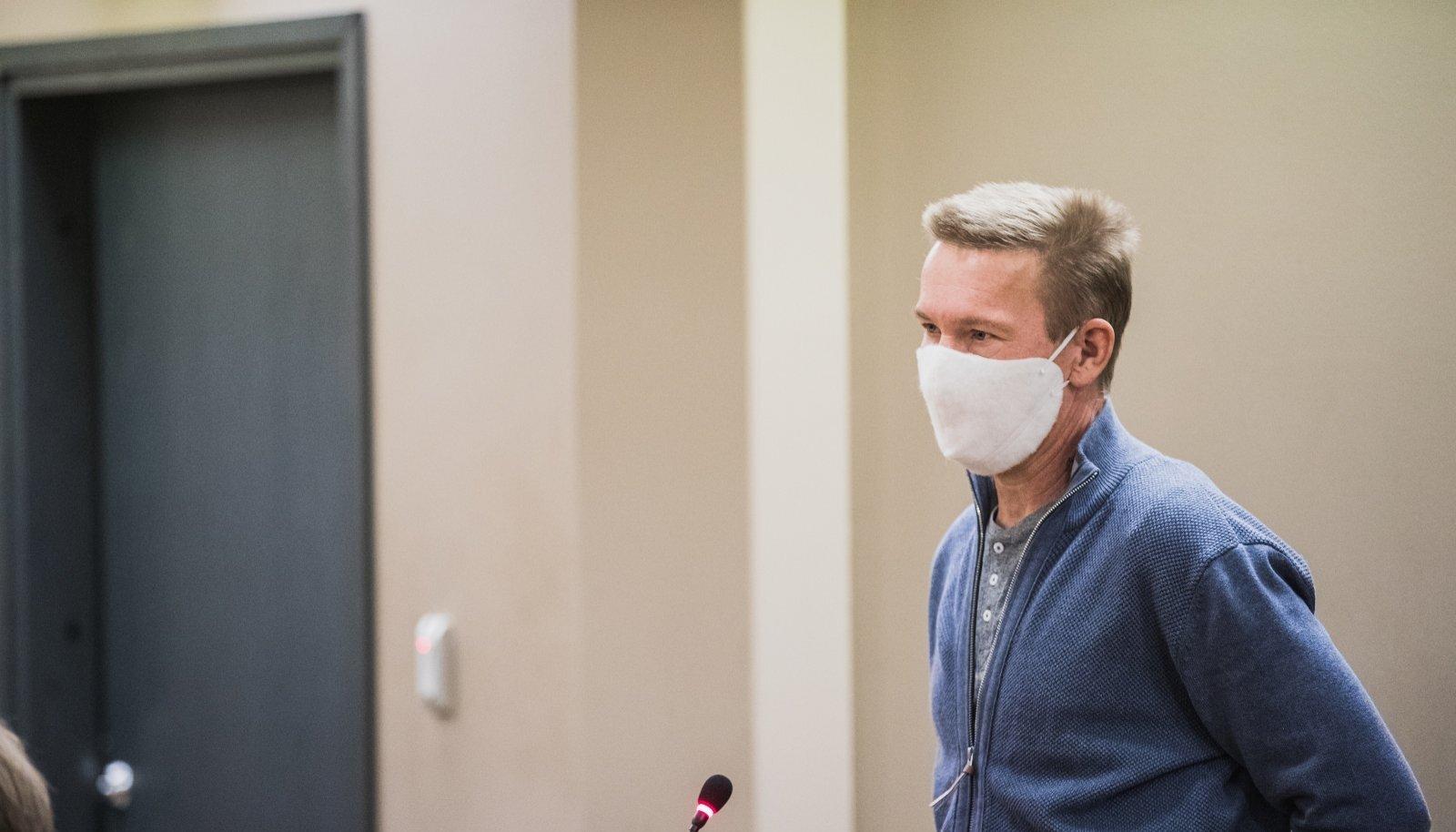 Marko Villemson 12. novembril Tartu maakohtus, kus talle määrati kolm aastat vangistust, millest reaalselt tuli kanda kuus kuud.