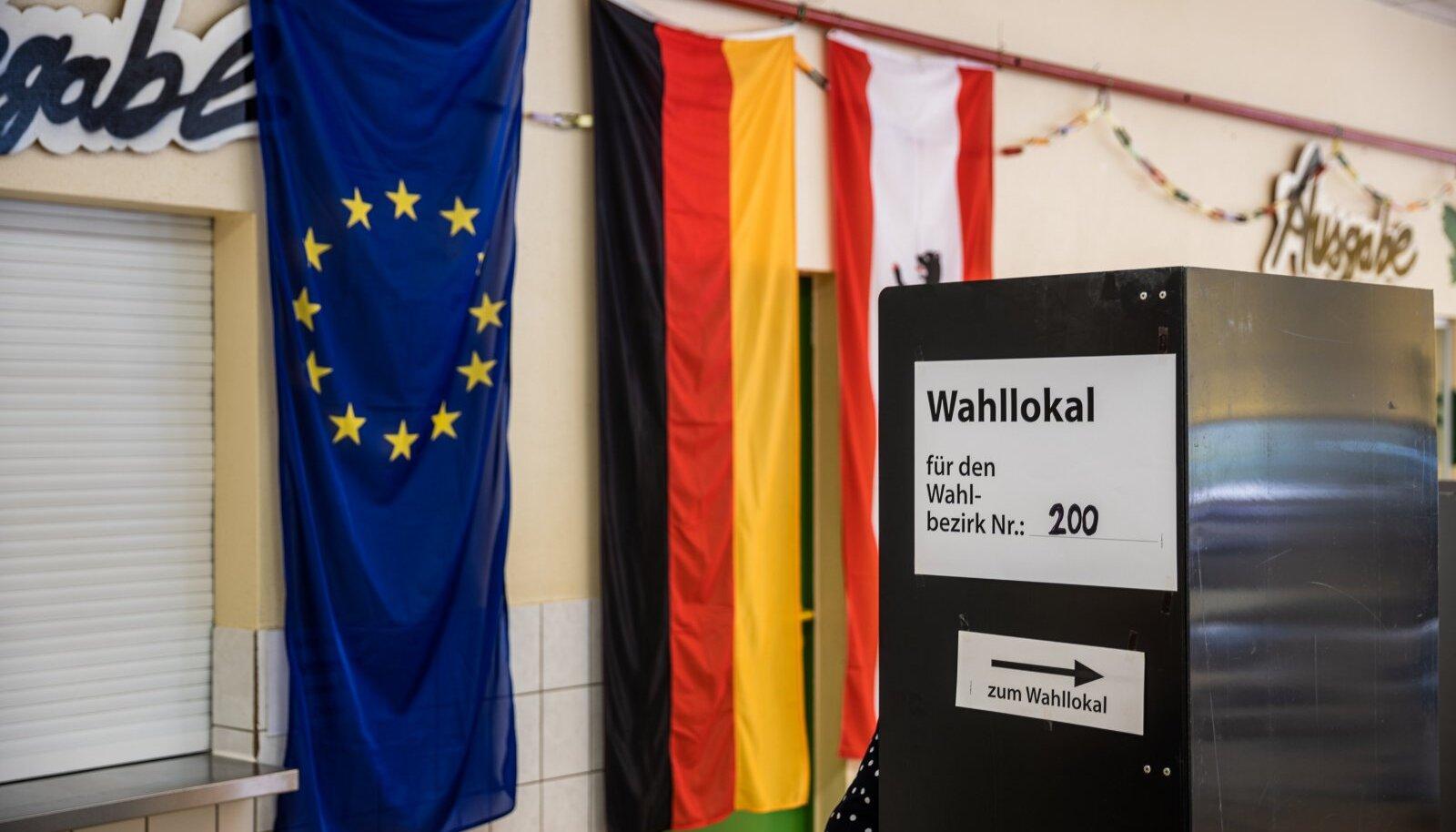 Valimispäev Berliinis 26.09.21
