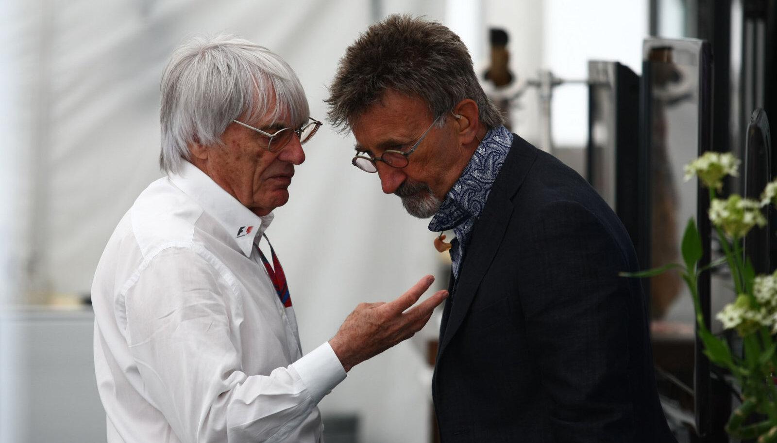 Bernie Ecclestone ja Eddie Jordan