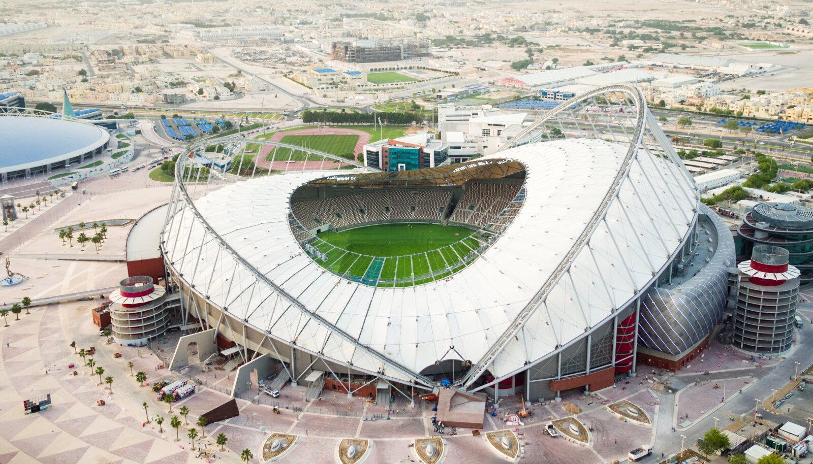 Khalifa staadion Dohas.