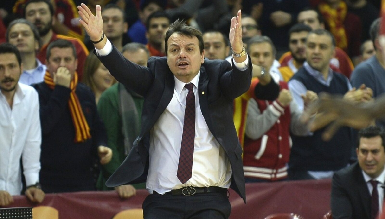 Galatasaray korvpallimeeskonna peatreener Ergin Ataman
