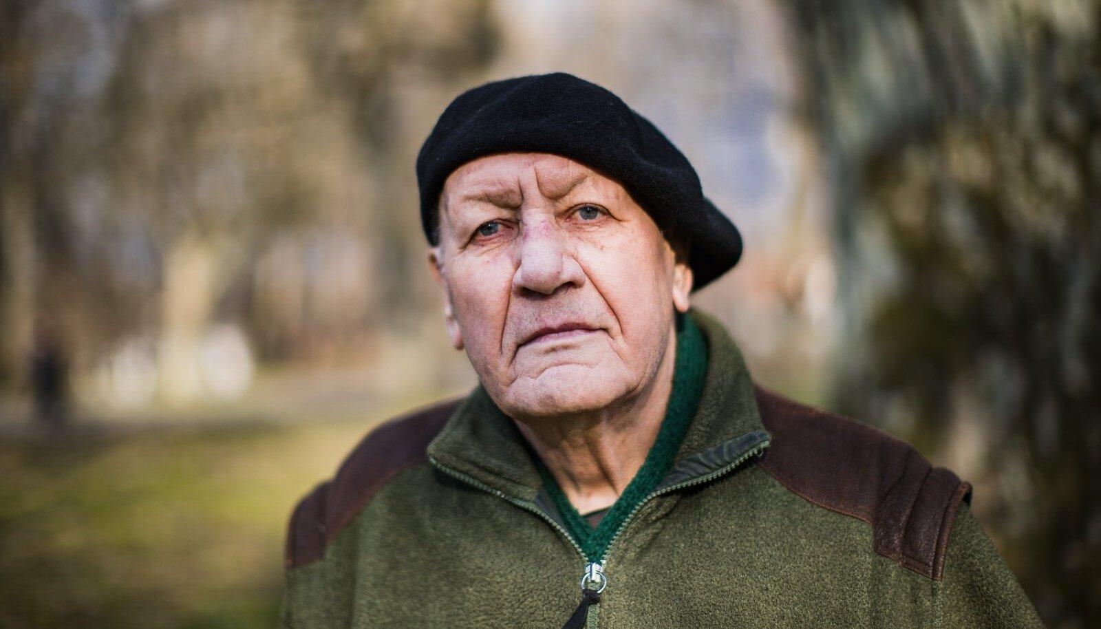 Fred Jüssil on keeruline mõista inimeste kirge raha vastu - rahale on ta immuunne.