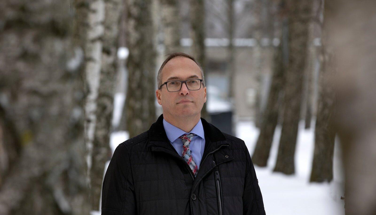 Keskkonnaameti peadirektor Riho Kuppart