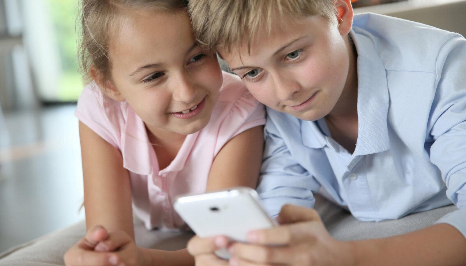 Lapsele telefoni ostes anna talle kaasa ka õiged väärtushinnangud