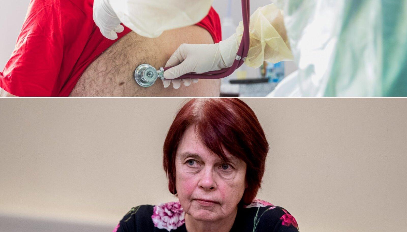 Irja Lutsar märkis Delfile, et kõige väiksem tõus nakatunute puhul on nähtav vanemaealiste seas. Haigestunute seas domineerivad aina enam noored.