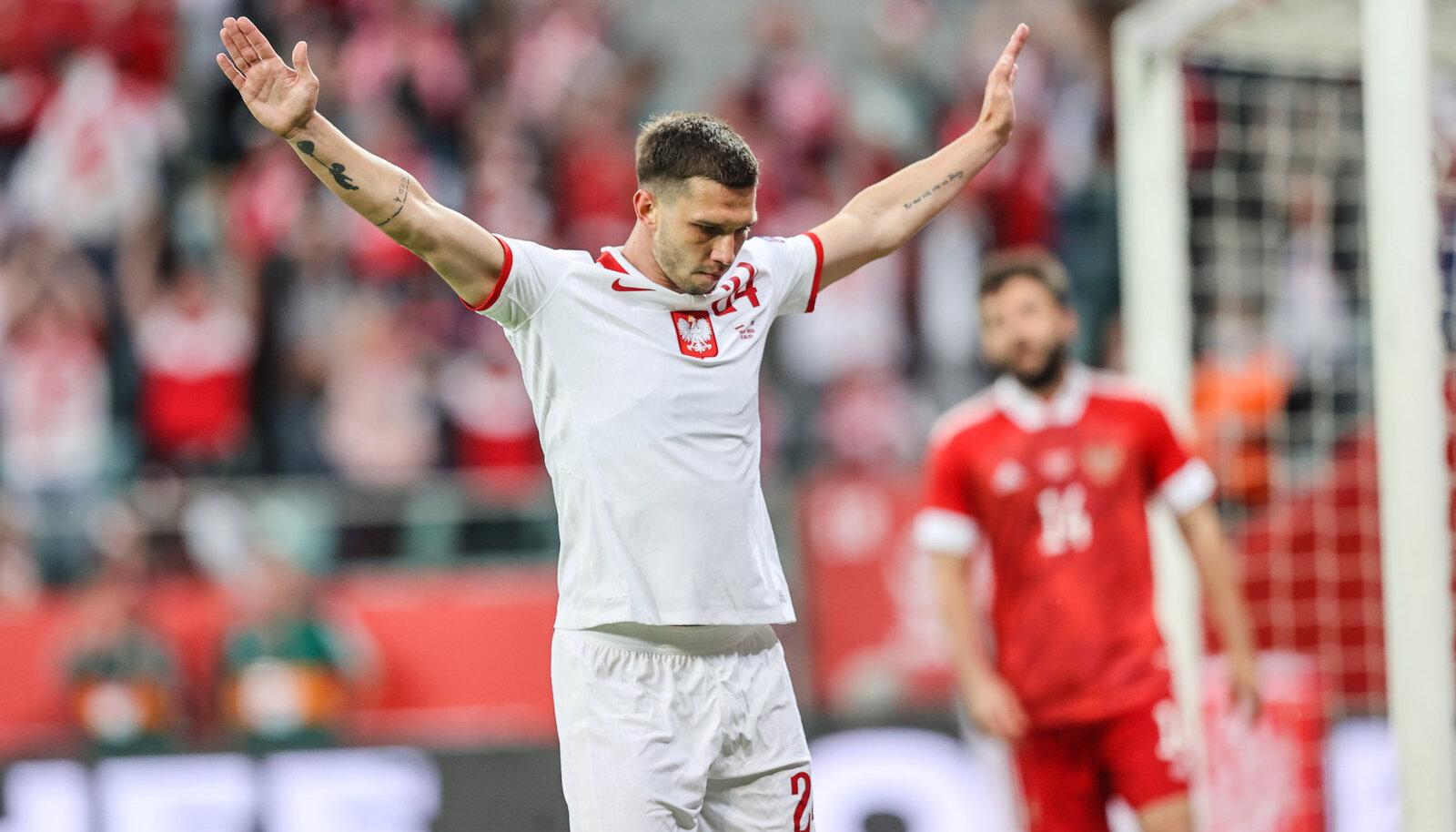 Jakub Swierczok lõi Poola värava