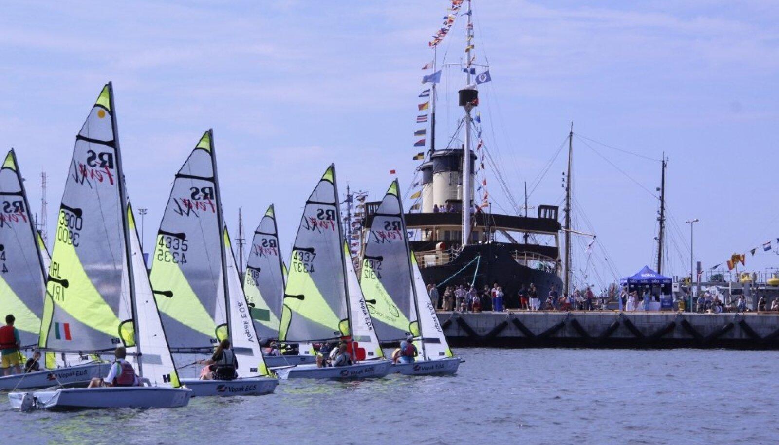 RS Feva klass 2014 Tallinn Race'il võistlemas