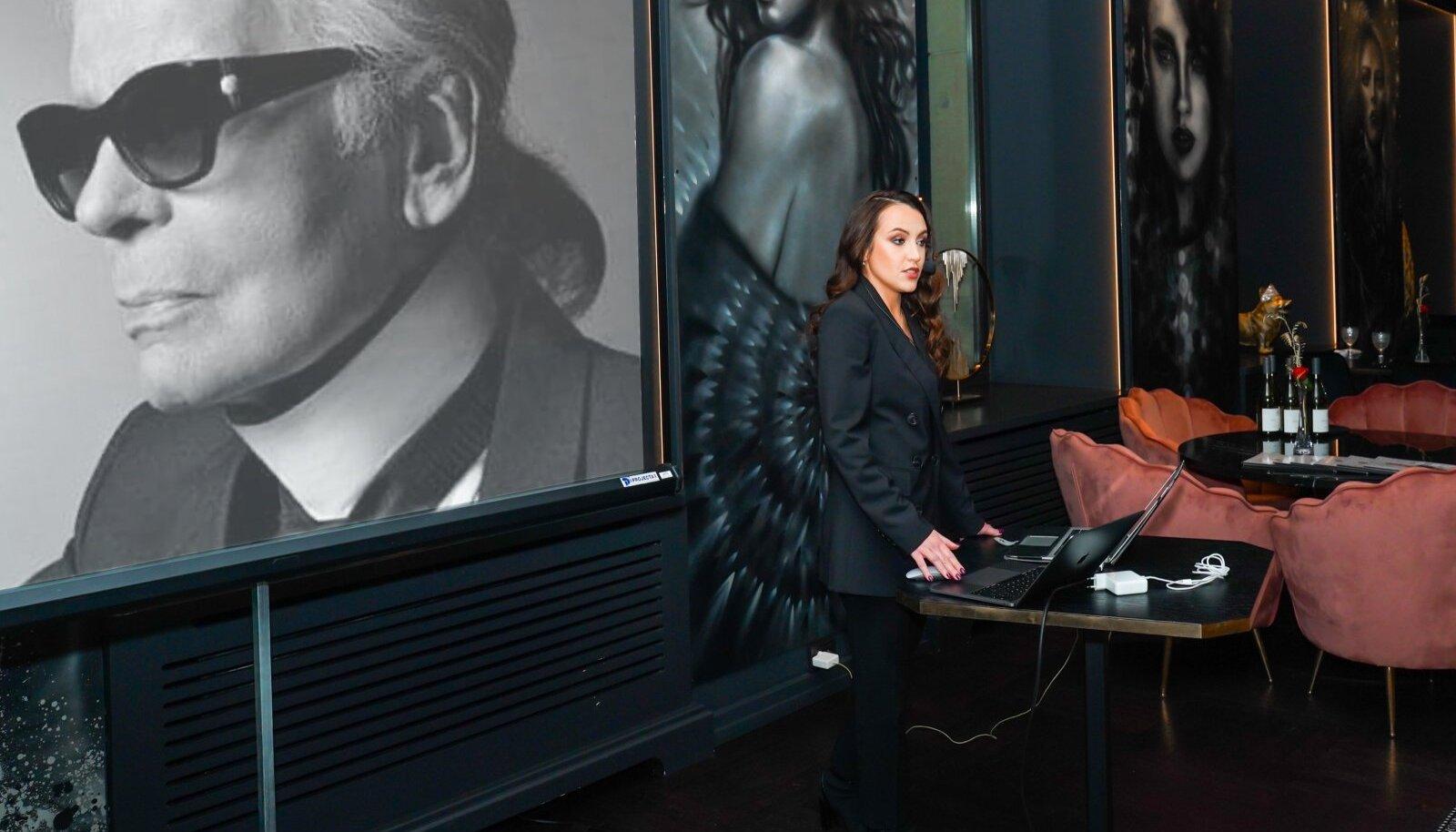Showcase PR Project. Karl Lagerfeld