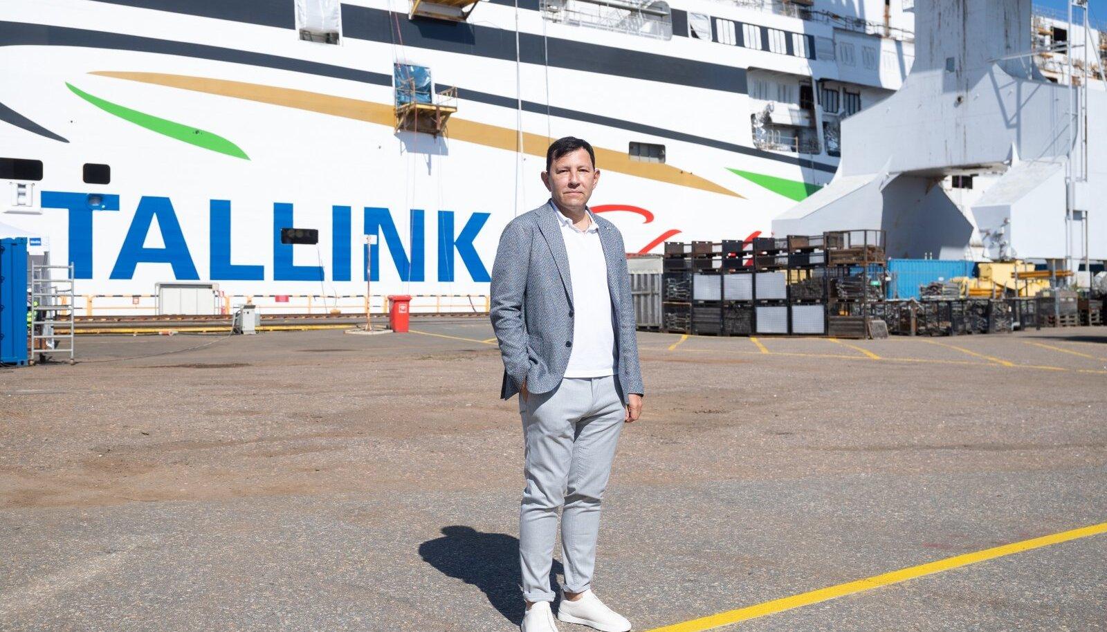 Tallinki suuromanik Enn Pant järgmisel aastal liinile tuleva MyStari ees