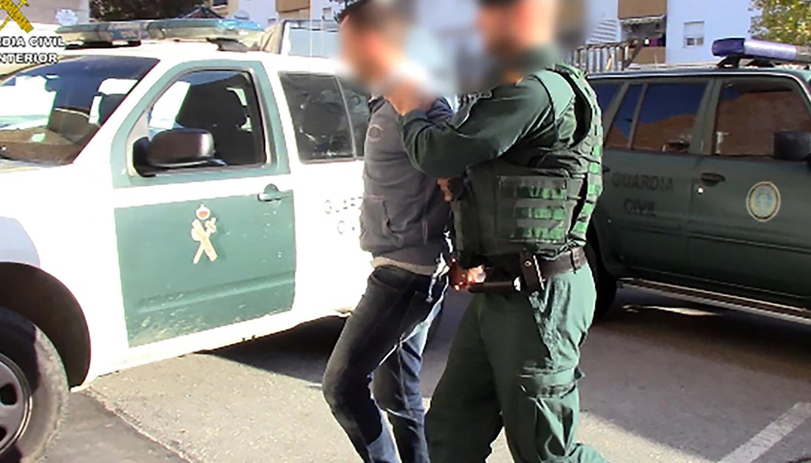 Päikeseranniku võimud nabisid 2019. aastal kinni Camorra klanniga seotud narkokaubitsejate rühmituse.
