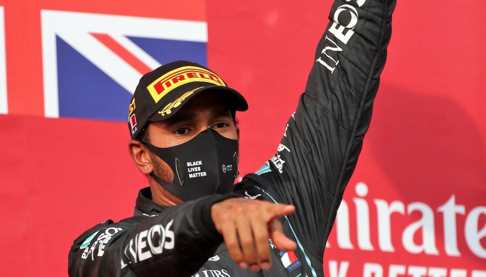 Lewis Hamilton võitis jälle.