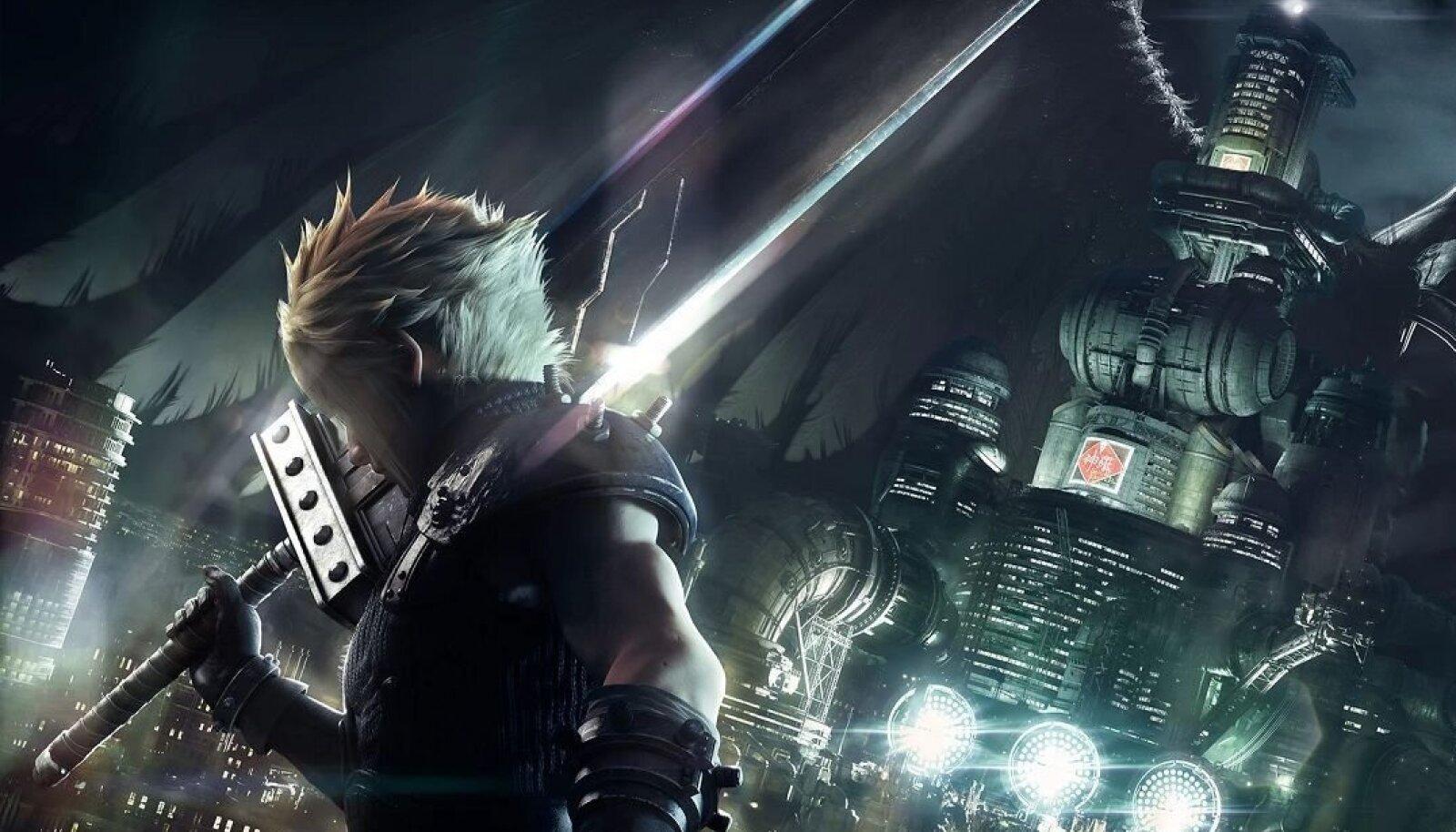"""Final Fantasy VII Remake"" (ekraanitõmmis)"