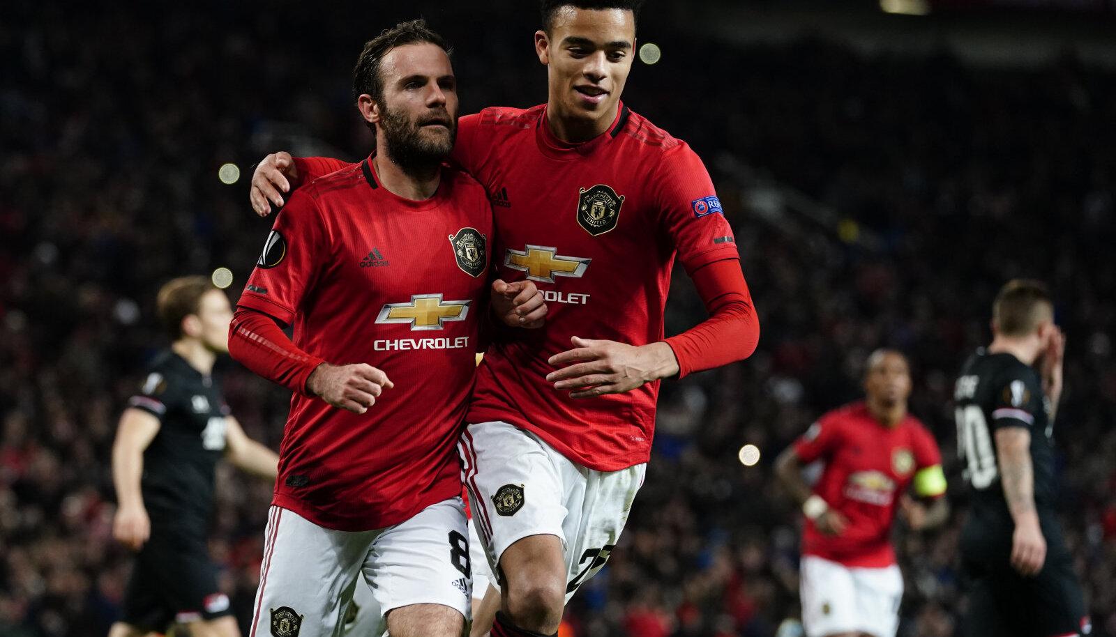 Juan Mata ja Mason Greenwoodi olid Unitedi võidu peaarhitektid.