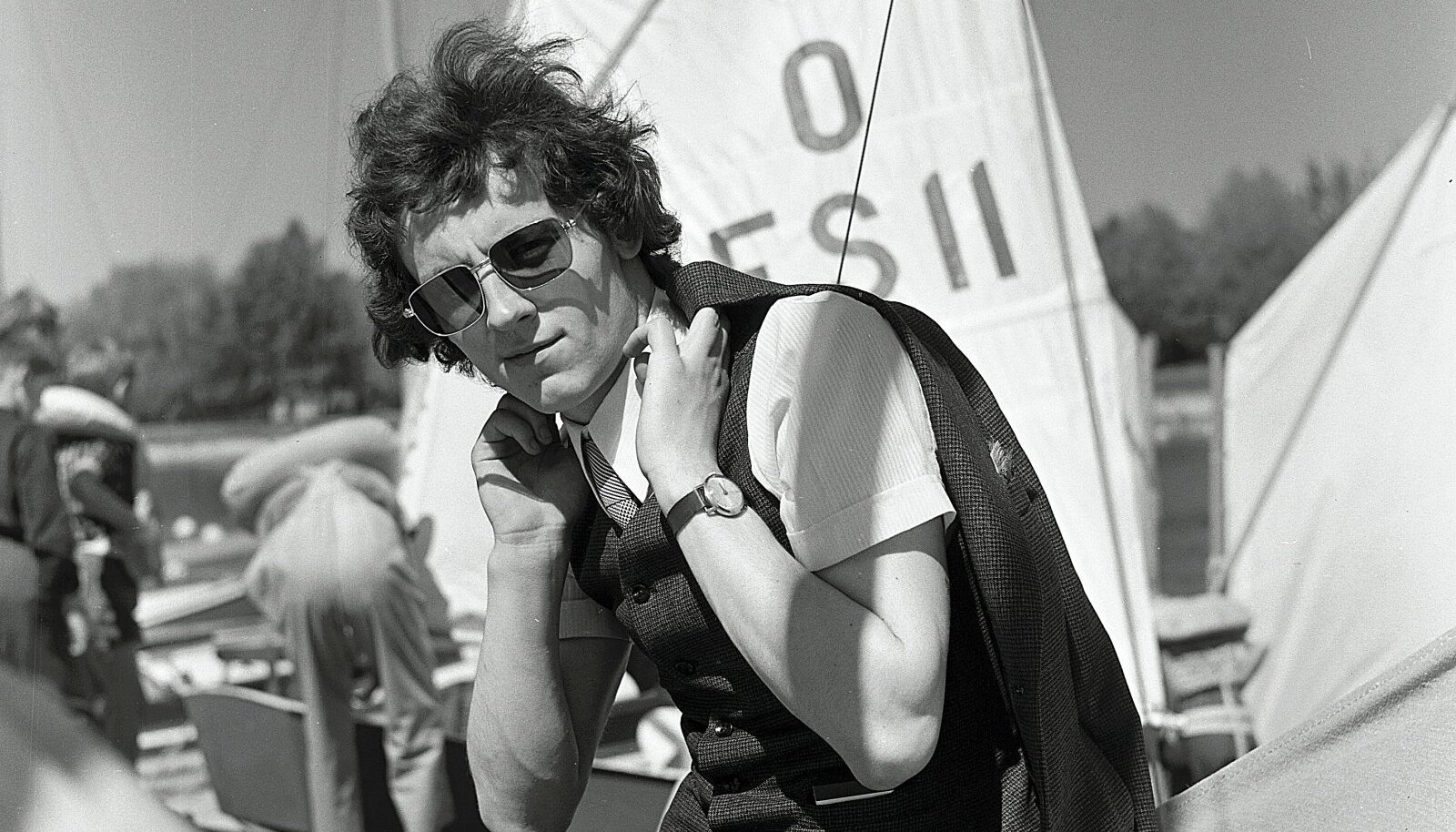 Jaak Joala 1971. aastal Pirital.