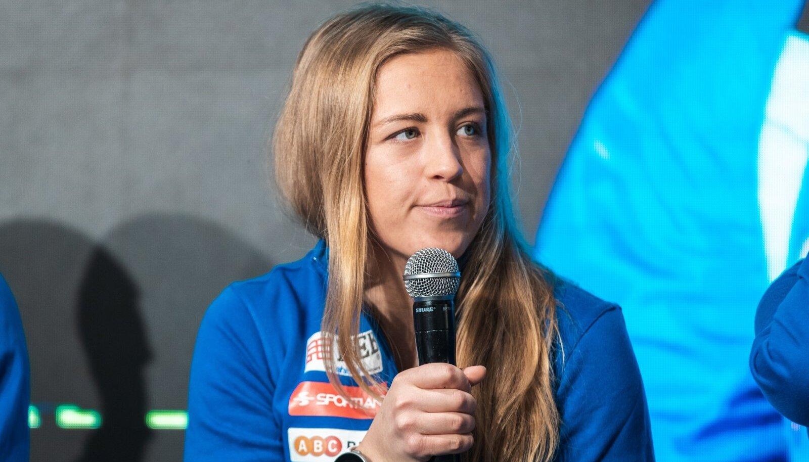 Johanna Talihärm jättis kiusliku haiguse tõttu treeningutes poolteist kuud vahele.