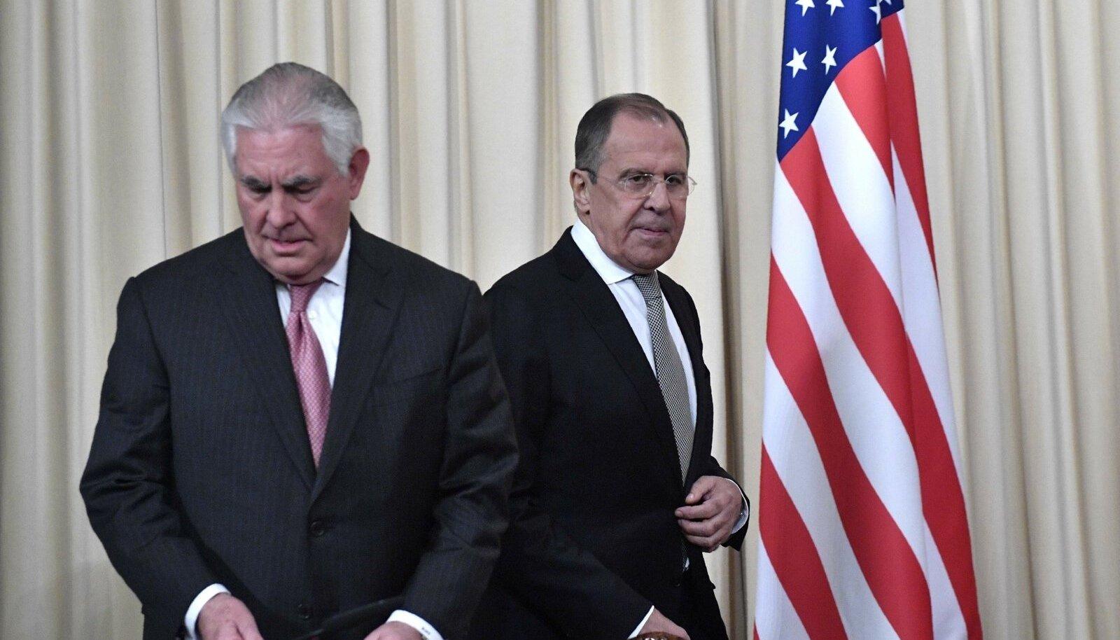 Rex Tillerson, Sergei Lavrov