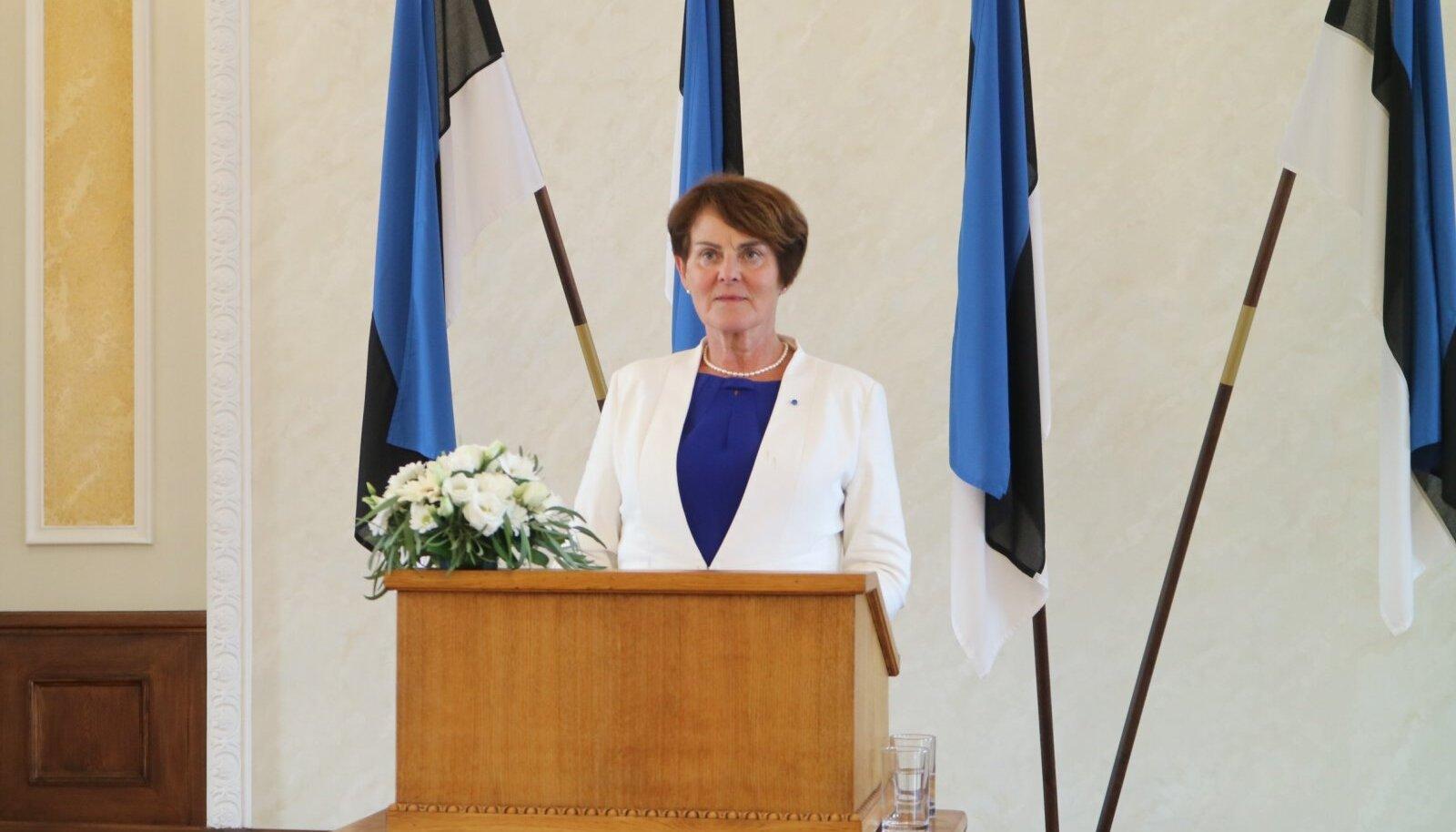 Liia Hänni kuulub 20. augusti klubisse, mis ühendab EV iseseisvuse taastamise poolt hääletanud Ülemnõukogu liikmeid.
