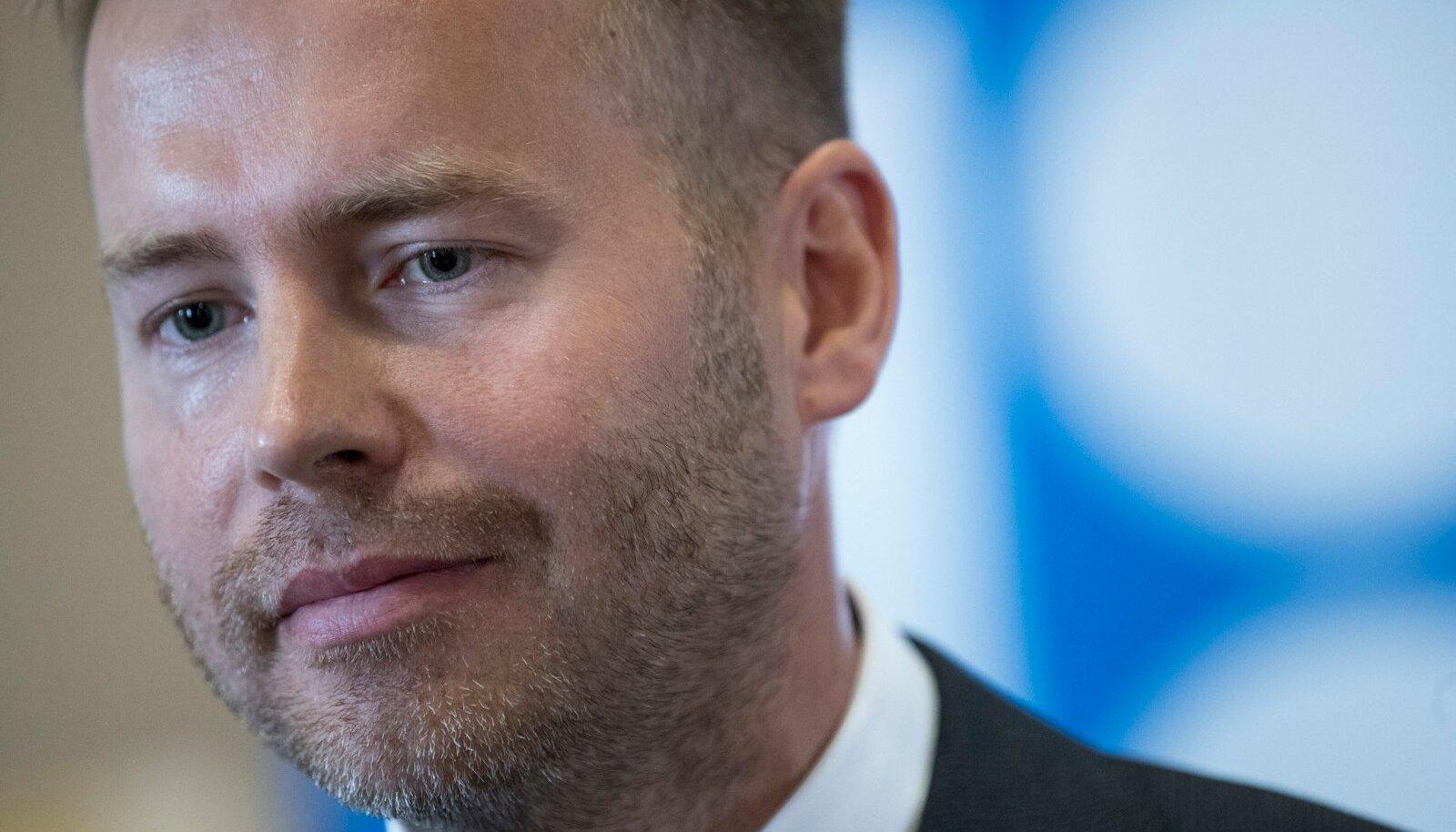 Ettevõtlus- ja infotehnoloogiaminister Rene Tammist.