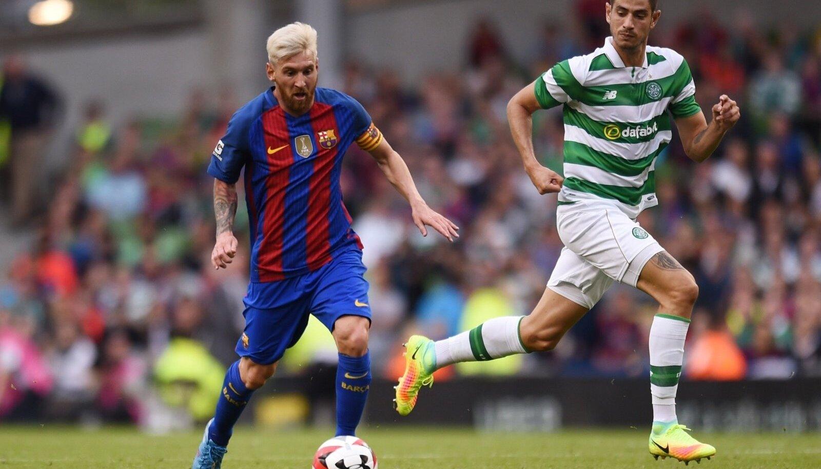 Uue väljanägemisega Lionel Messi