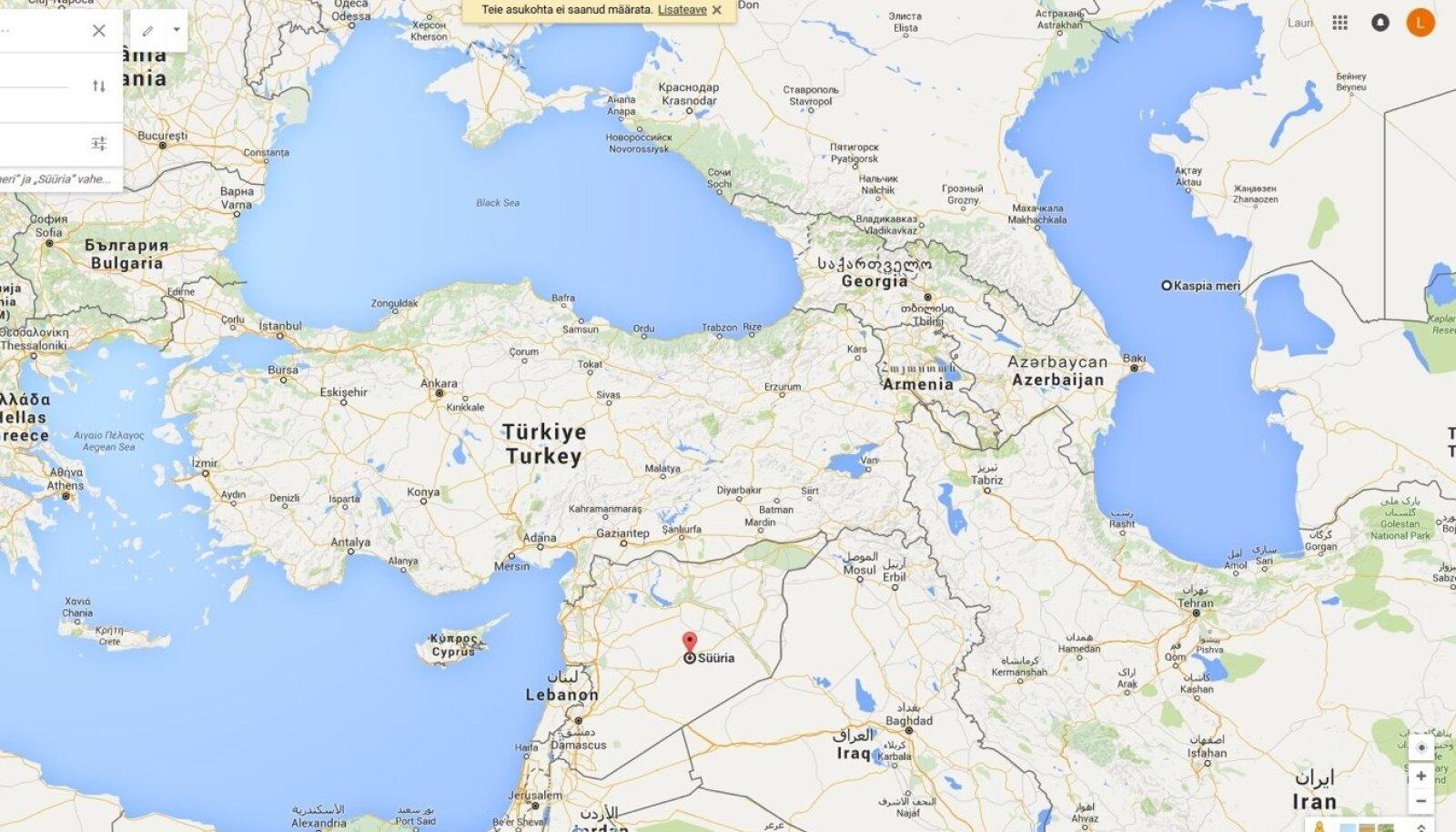 Kaspia-Süüria