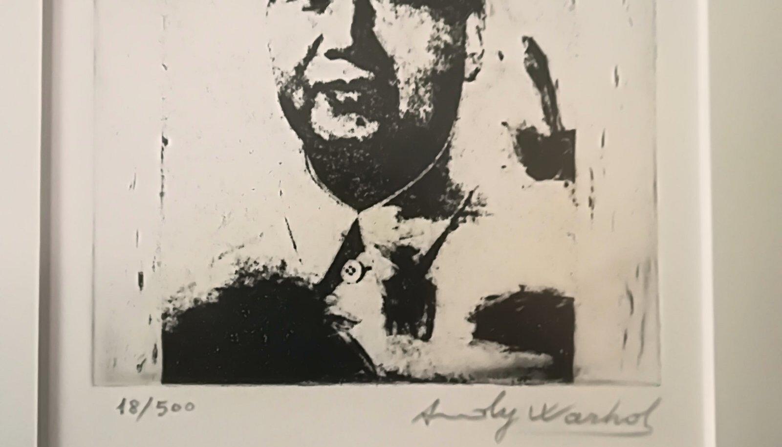 Andy Warholi töö Mao Zedongist