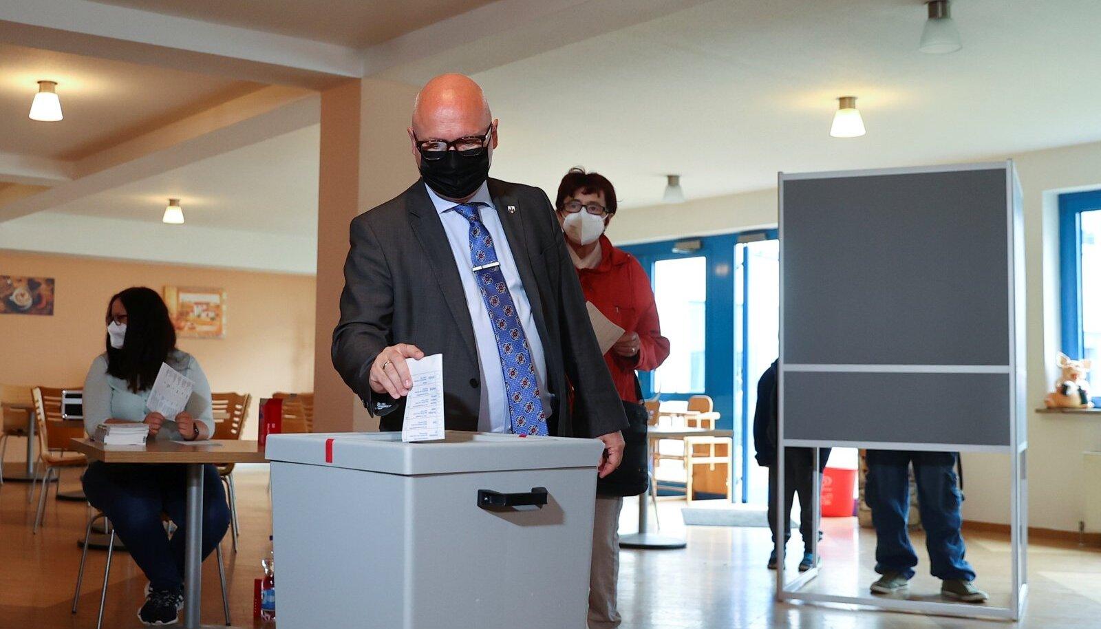 Saksi-Anhalti AfD liider Oliver Kirchner