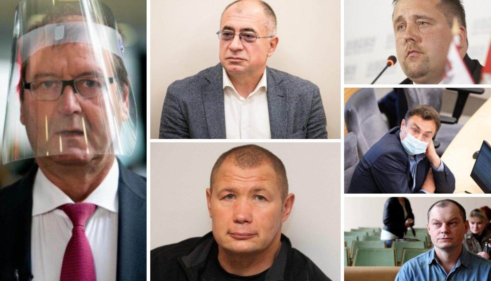 Leedu hiljutistelt rahutuselt võtsid osa nii mitmekordselt vanglakaristust kandnud inimesed kui ka kahtlaste asjaajamistega poliitikud.