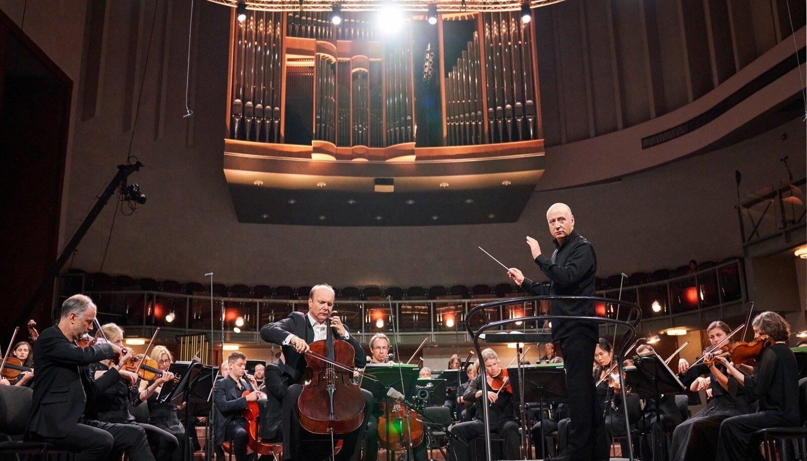 Eesti Festivaliorkestri kontsert Paavo Järvi juhatusel