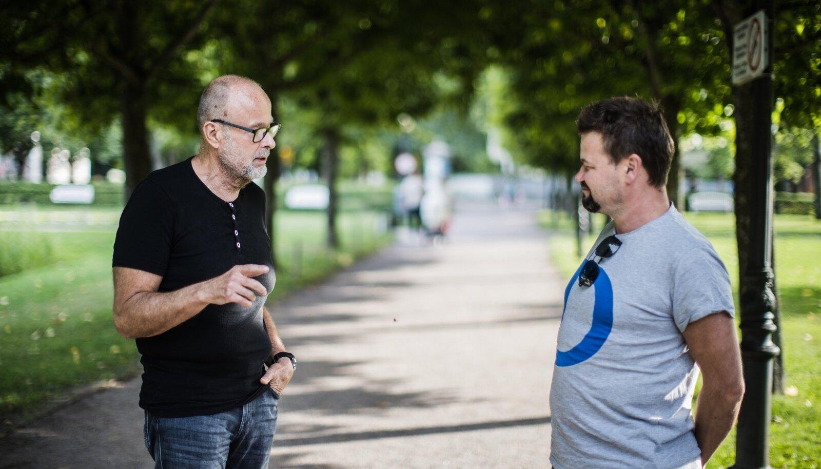Rein Müllerson ja Krister Paris