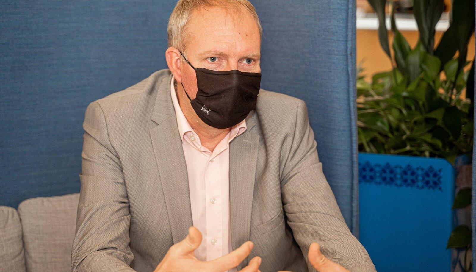 Sotsiaalministeeriumi e-teenuste ja innovatsiooni asekantsler Kalle Killar