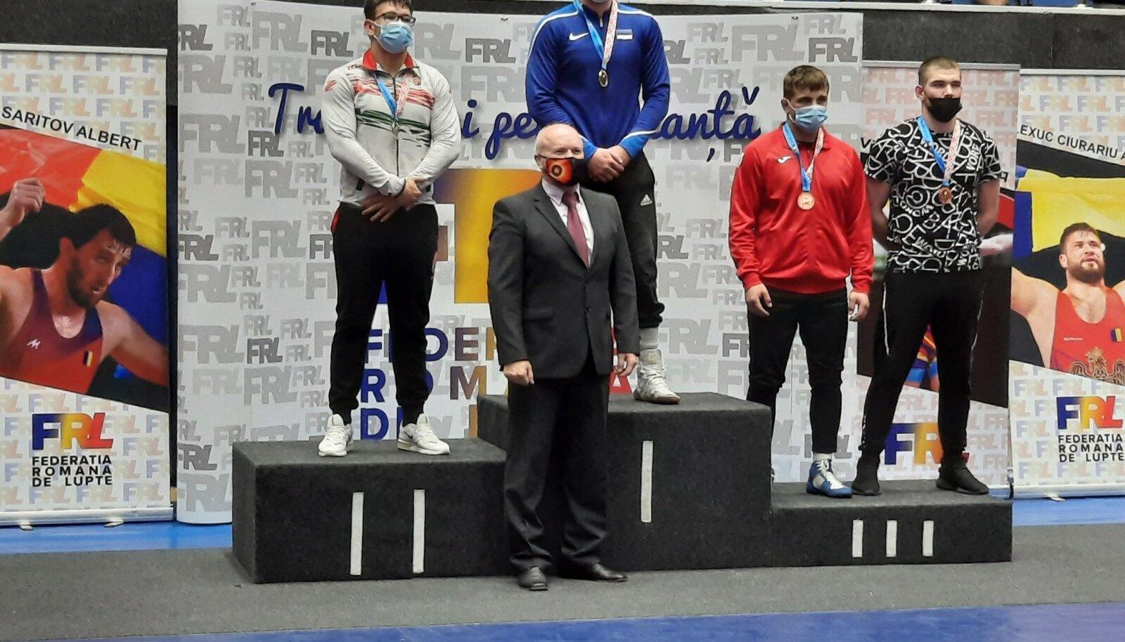 Richard Karelson võidutses Rumeenias.