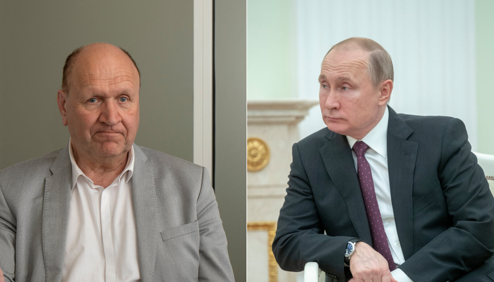 Хельме и Путин - яркие политики современности