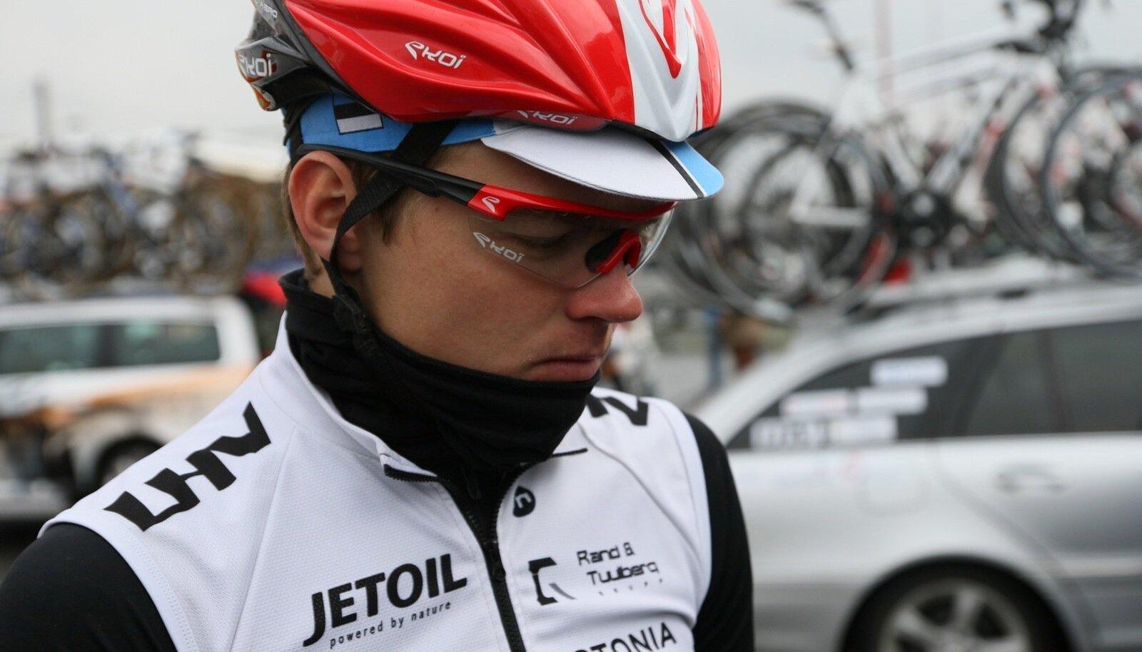 U23 rattakoondise liige Martin Laas