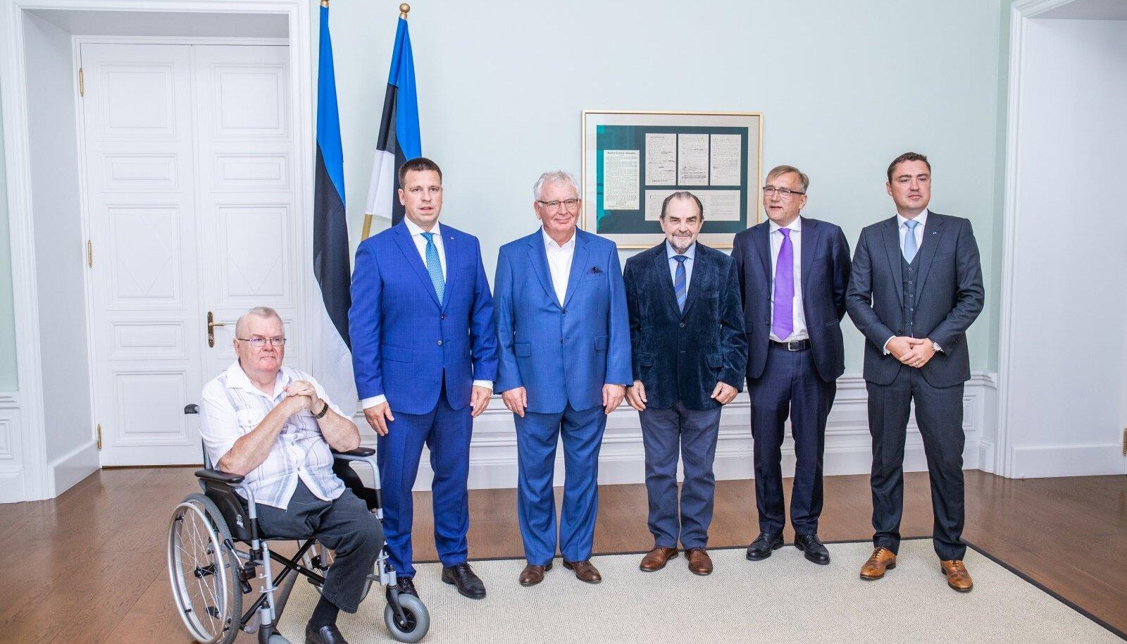 Eesti Vabariigi endised peaministrid.